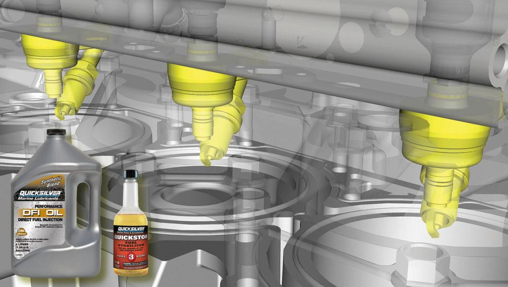 Консервация топливной системы лодочных моторов Mercury